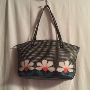 Relic Shoulder Bag Polka Dot & Daisy